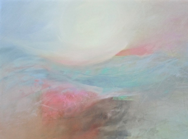 """Mirage II"" // Oil on Canvas, 30""x40"" :: Pam Hassler // $2,800"