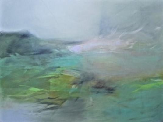 """Undercurrent"" // Oil on Canvas, 30""x40"" :: Pam Hassler // $2,800"
