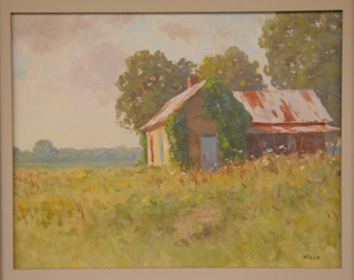 OLD HOUSE, DELTA • Richard Kelso • $1,700