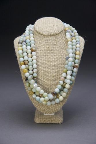 Tisch amazonite bead necklace
