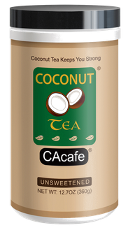 CAcafe coconut tea unsweetened