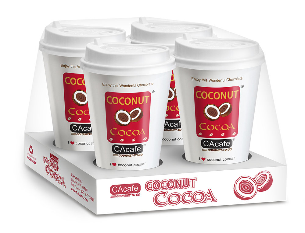 CAcafe gourmet to go coconut cocoa