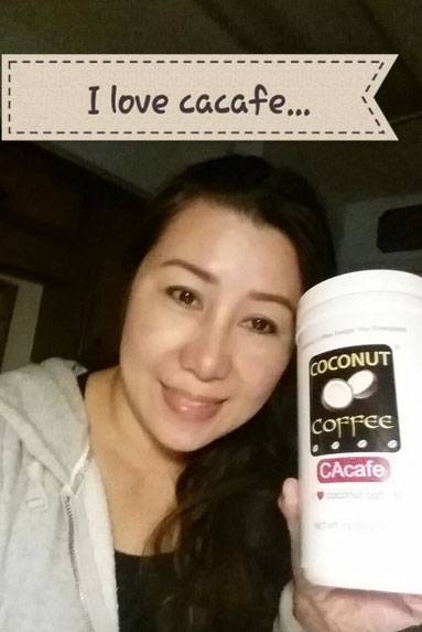 CAcafe customer new woman energy weight loss