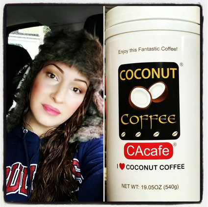 CAcafe customer recommends coconut coffee