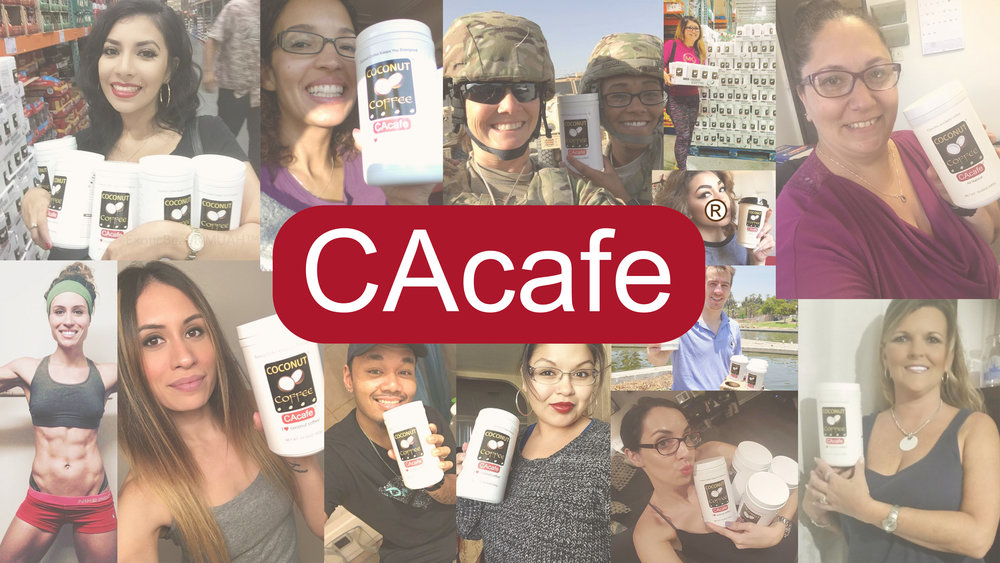 CAcafe customers collage