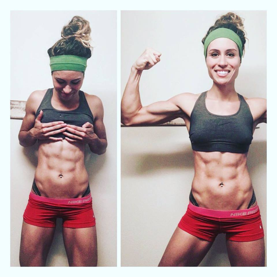 Crossfit Athlete Emilee Jennings Muscle