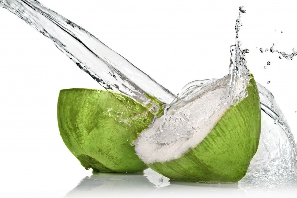 virgin coconut water