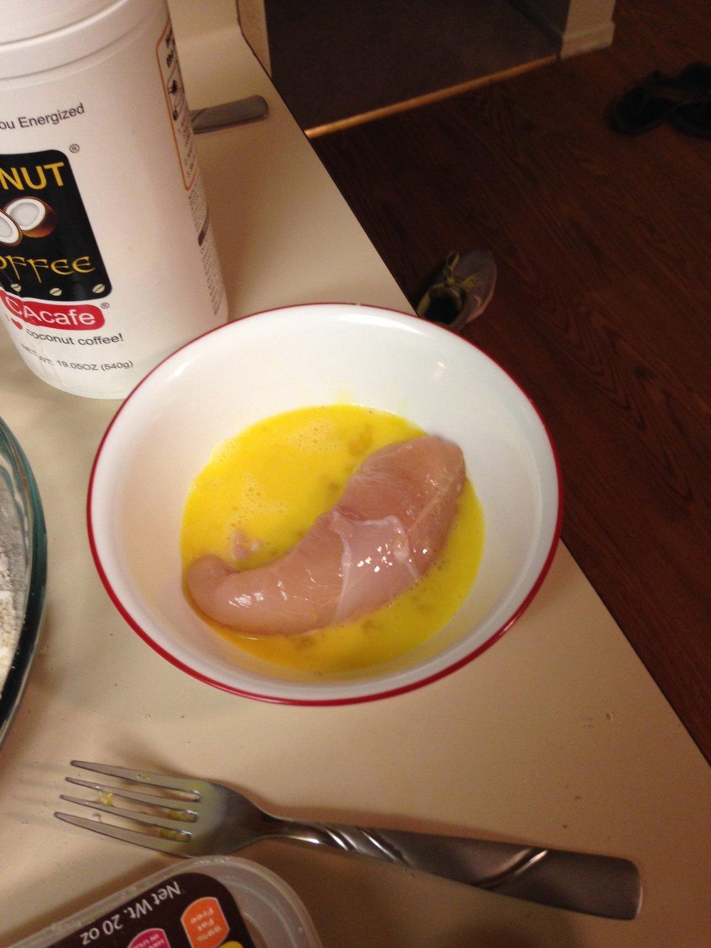 chicken egg wash