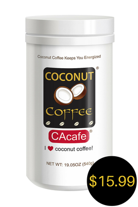 CAcafe coconut coffee