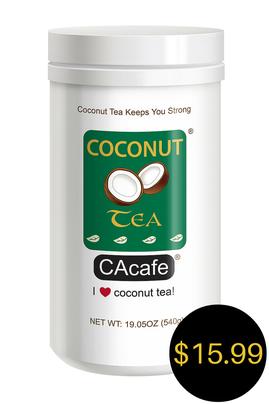 CAcafe coconut tea