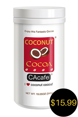 CAcafe coconut cocoa