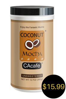 CAcafe coconut mocha unsweetened