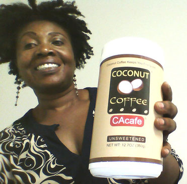 CAcafe customer coconut coffee weight loss