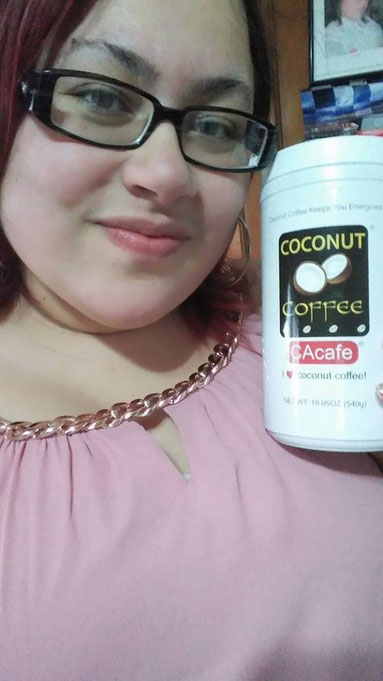 CAcafe customer review coconut coffee