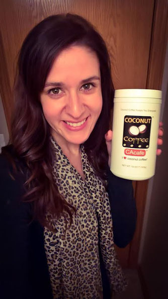 CAcafe customer coconut coffee costco love