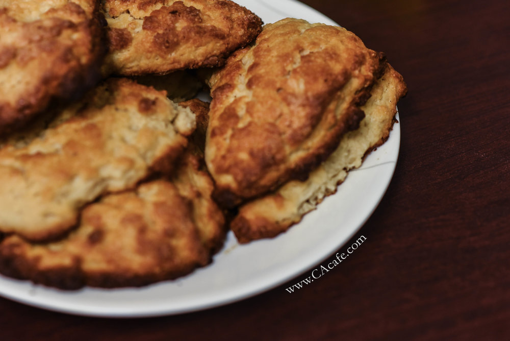 CAcafe coconut tea scones recipe