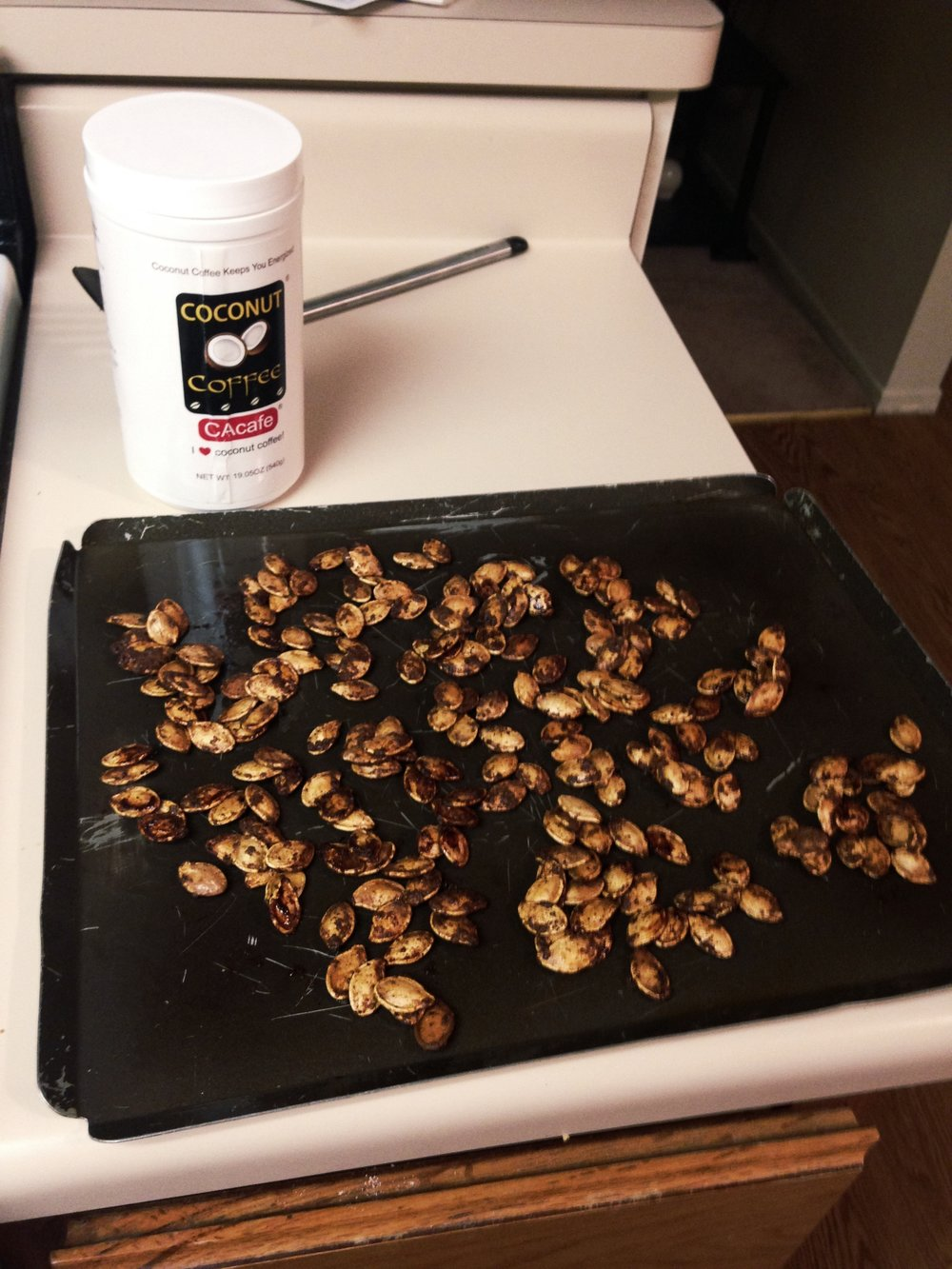 CAcafe Roasted Pumpkin Seeds