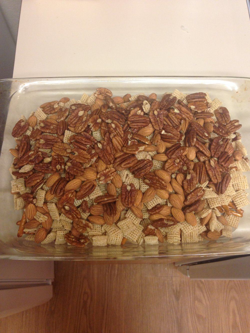 nuts almond pecan