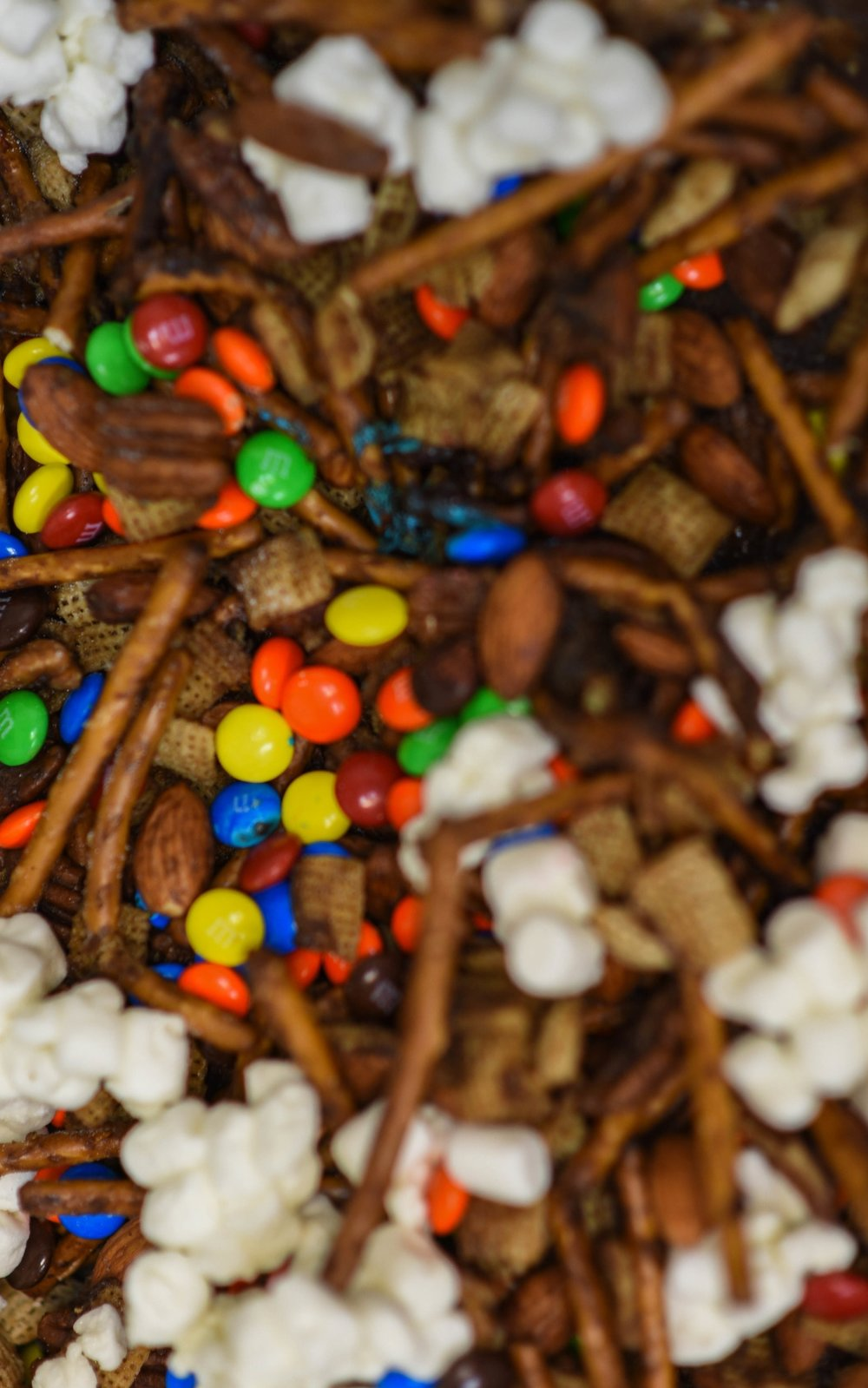 CAcafe halloween coconut coffee chex mix