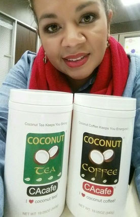 CAcafe customer review coconut coffee delicious