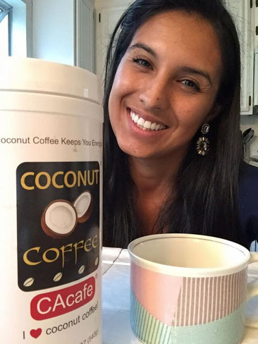 CAcafe customer review energy coconut coffee mother mom