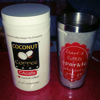 CAcafe customer review coconut coffee stomach good