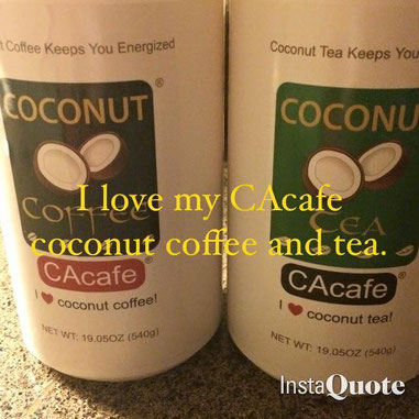 CAcafe customer review coconut coffee stress