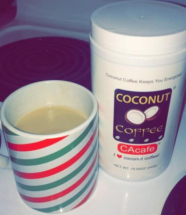 CAcafe customer review coconut coffee story delicious taste
