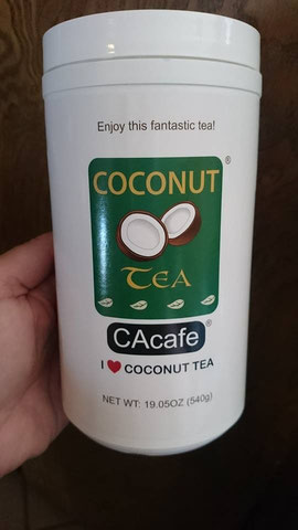 CAcafe customer story review coconut tea creamer