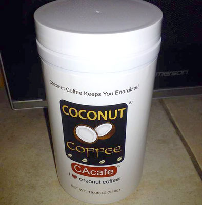 CAcafe customer review story coconut coffee hair skin
