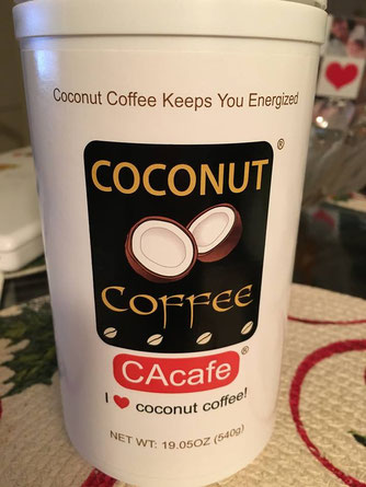 CAcafe customer review story coconut coffee delicious taste benefits