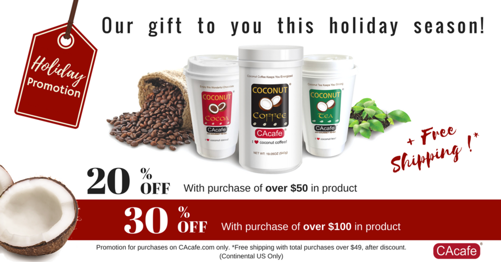 CAcafe is having some awesome Holiday Promotions that you may want to take advantage of! Check them out here: