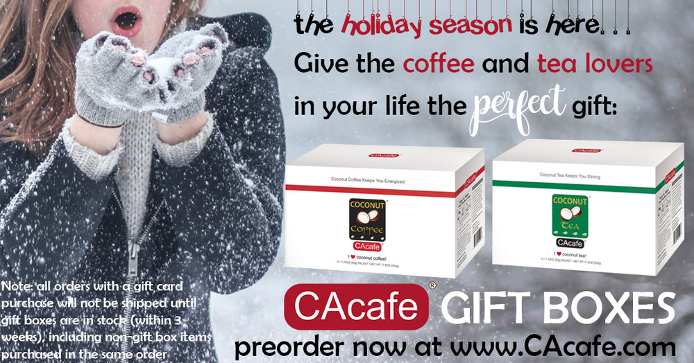 CAcafe gourmet gift boxes available now for holiday season
