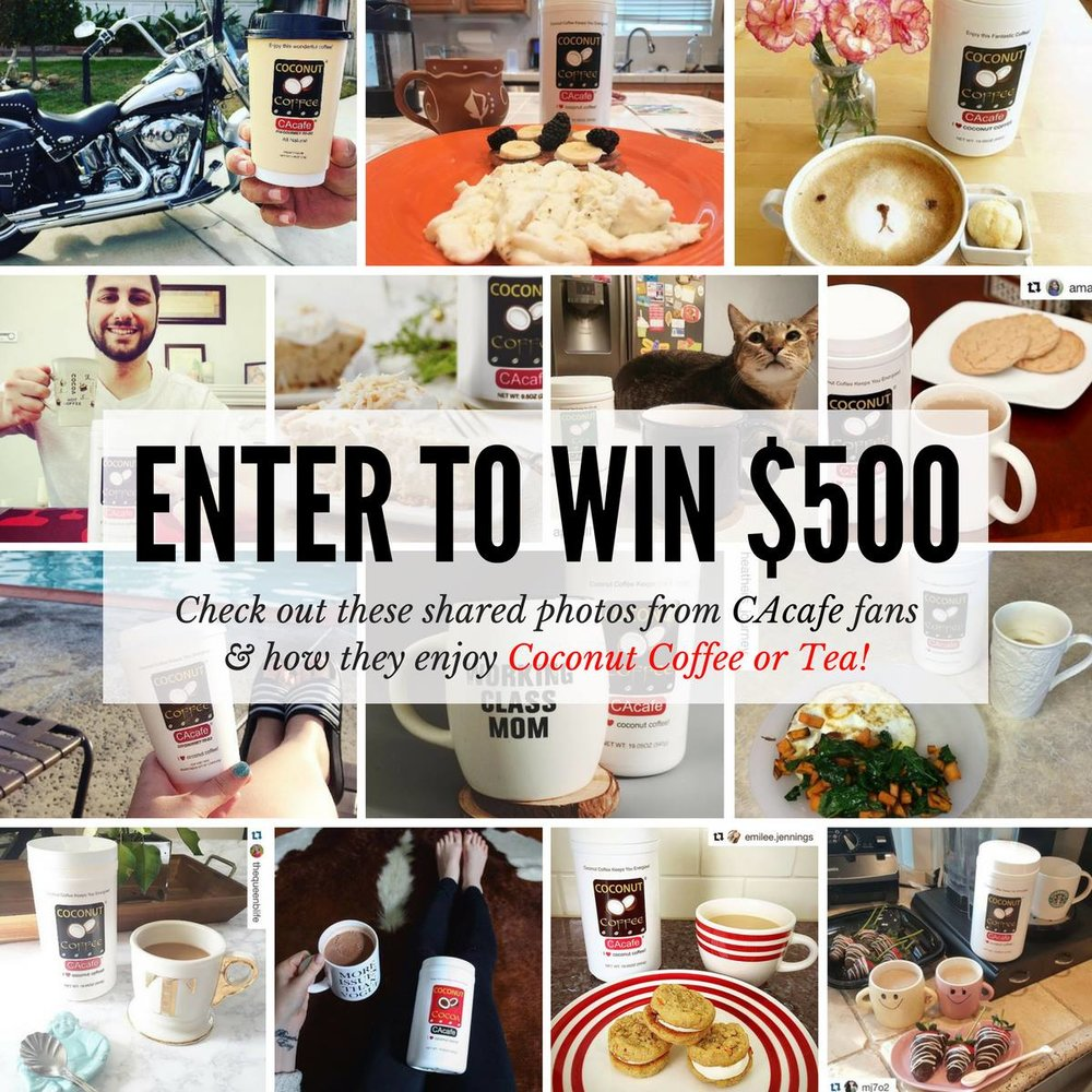Win $500 from CAcafe simply by taking a picture!