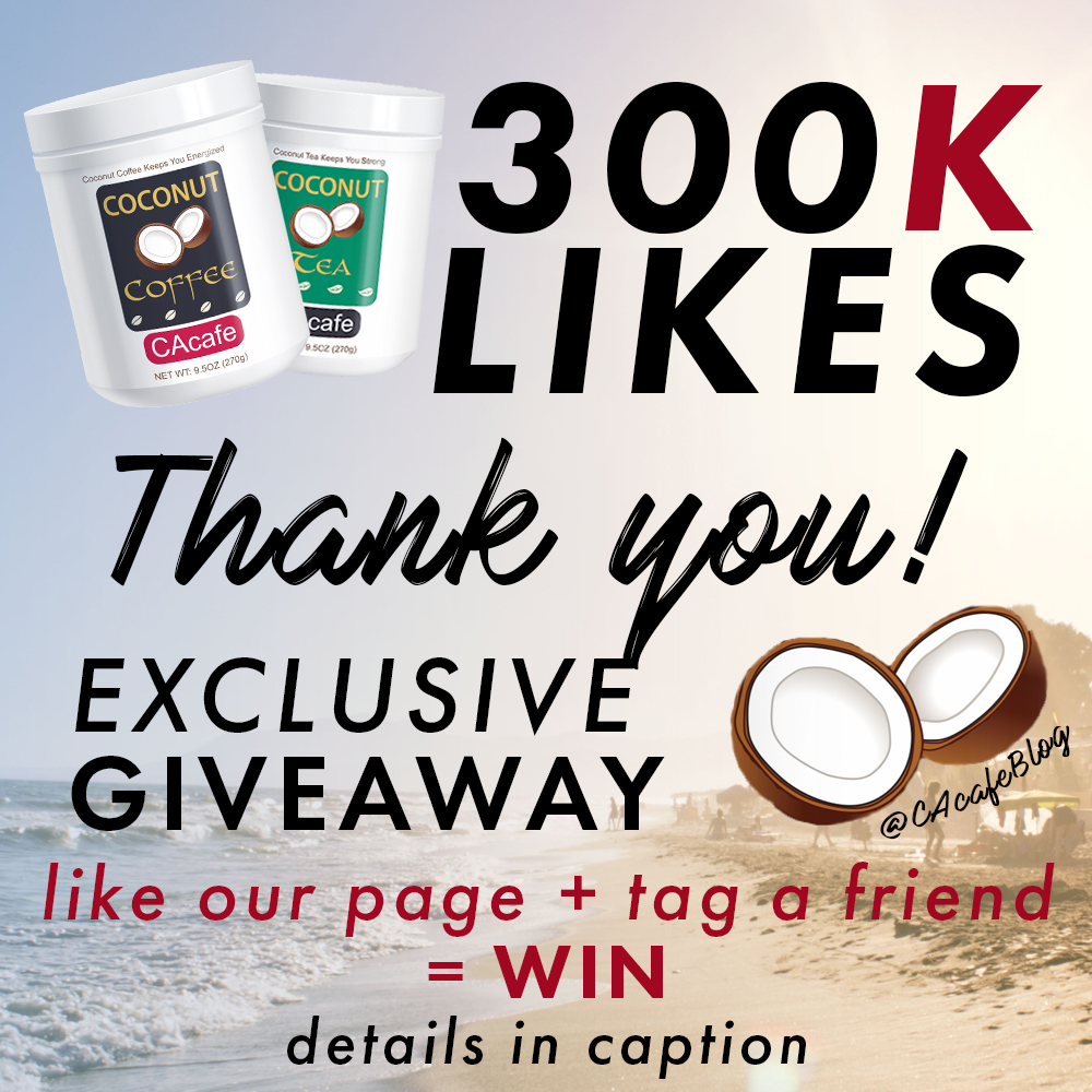 CAcafe 300K Facebook Likes Giveaway
