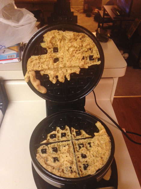 Why you should grease your waffle iron
