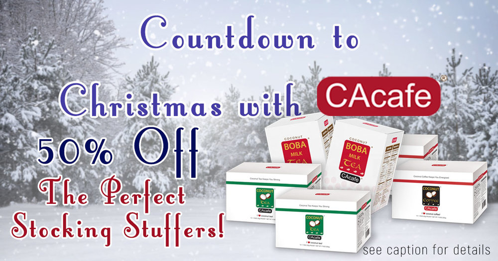 Countdown to Christmas with CAcafe