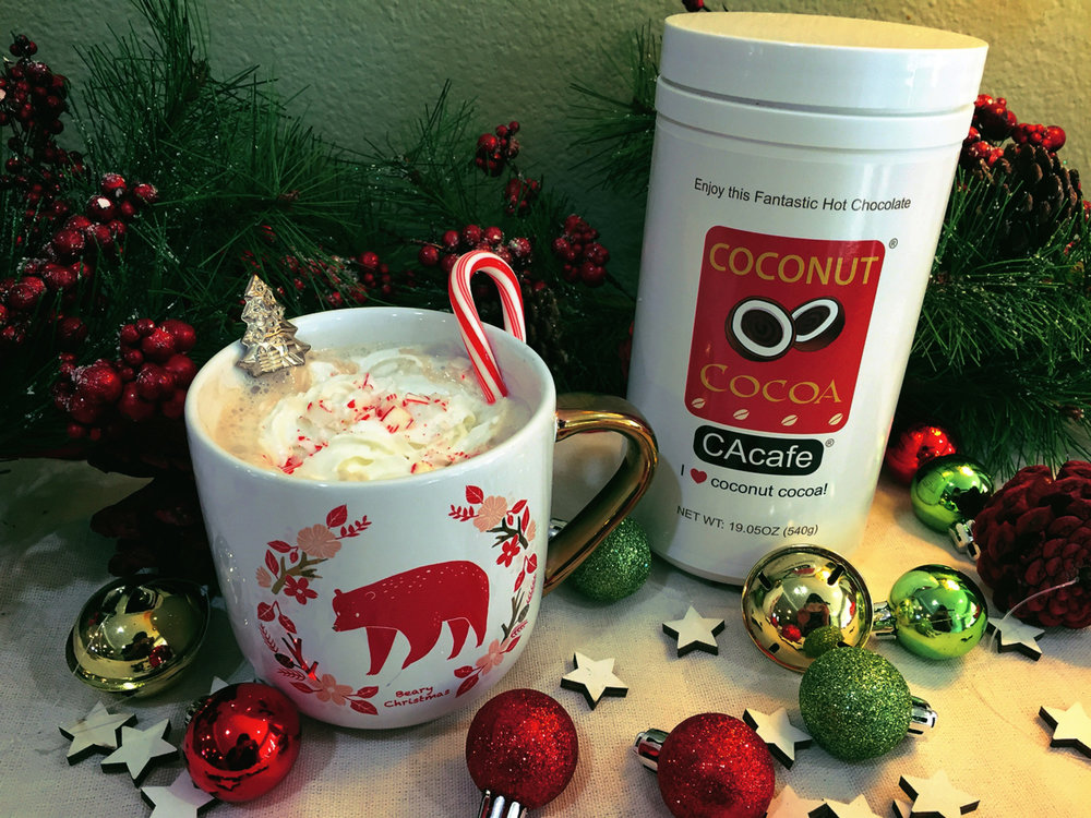 CAcafe Peppermint Coconut Cocoa Recipe