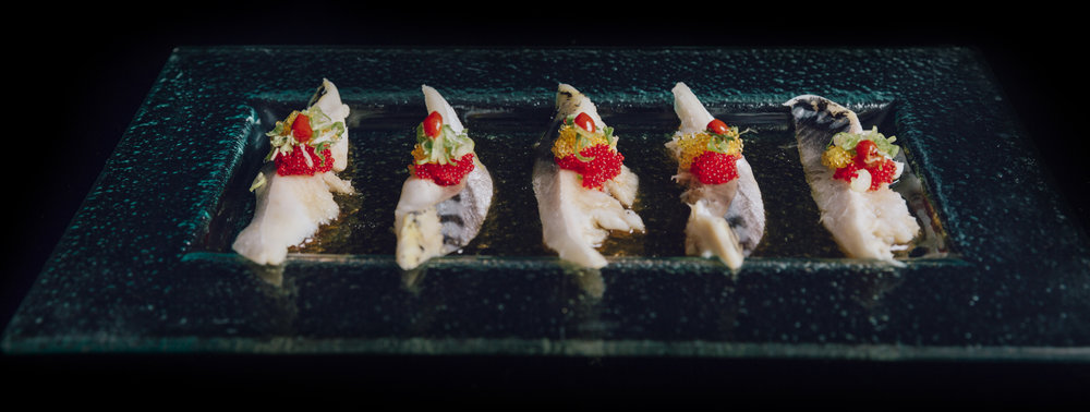 Poke Mackerel Sashimi
