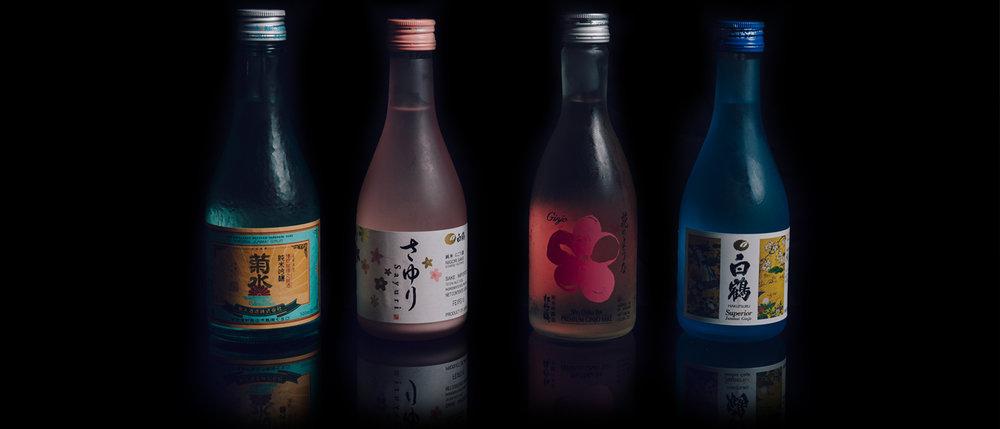 Bottled Cold Sake