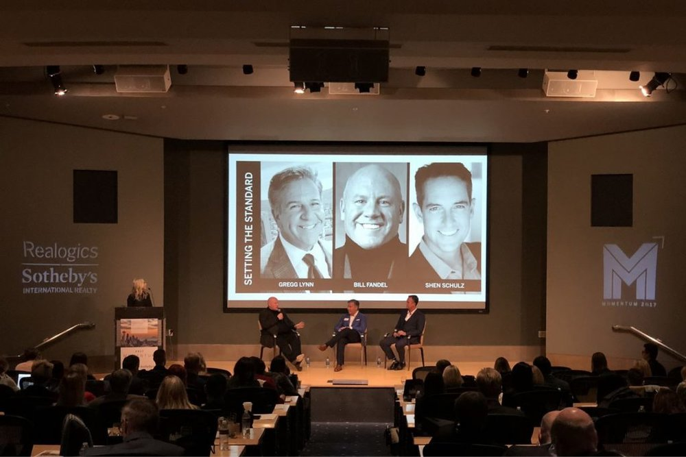 Jones invited Lynn, Fandel & Schulz to speak on their positions as market leaders in the network.