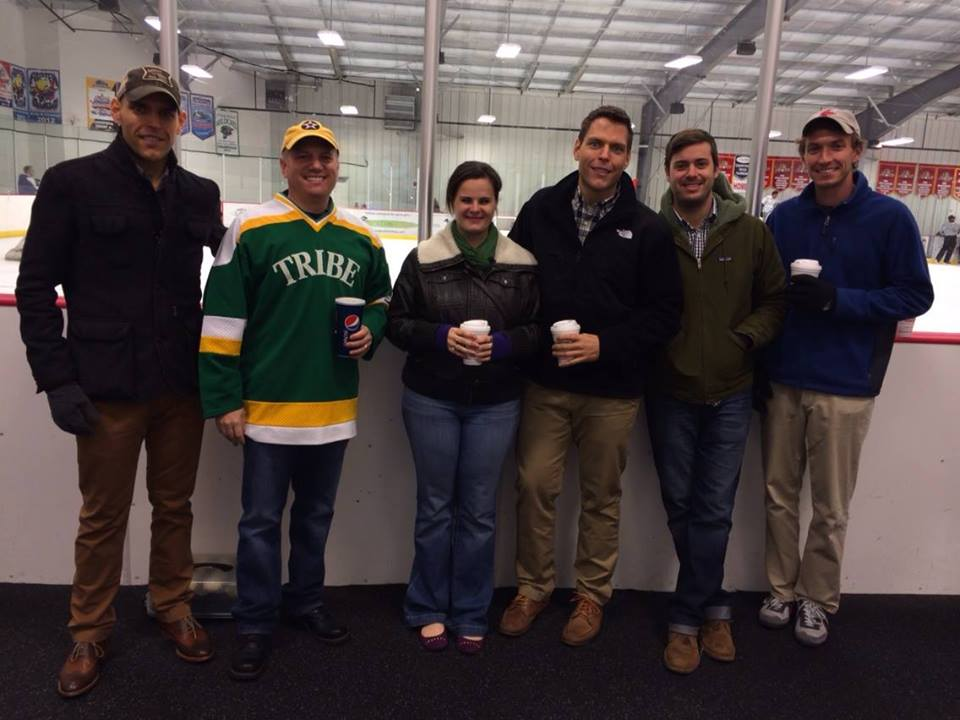 2013 NOVA alumni dinner group at rink.jpg