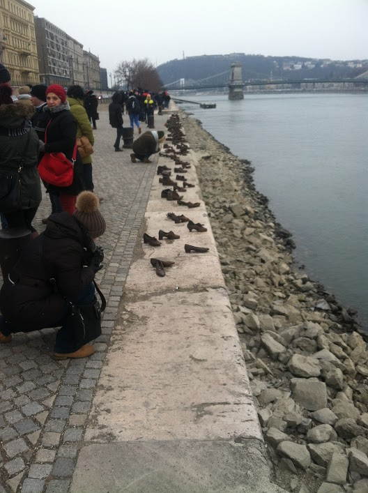 The Shoes on the Danube Bank is a Holocaust memorial in Budapest.