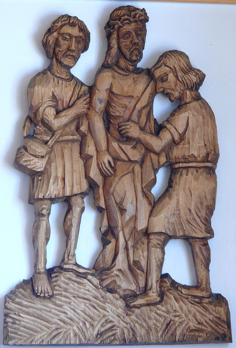 X Jezus odarty z szat