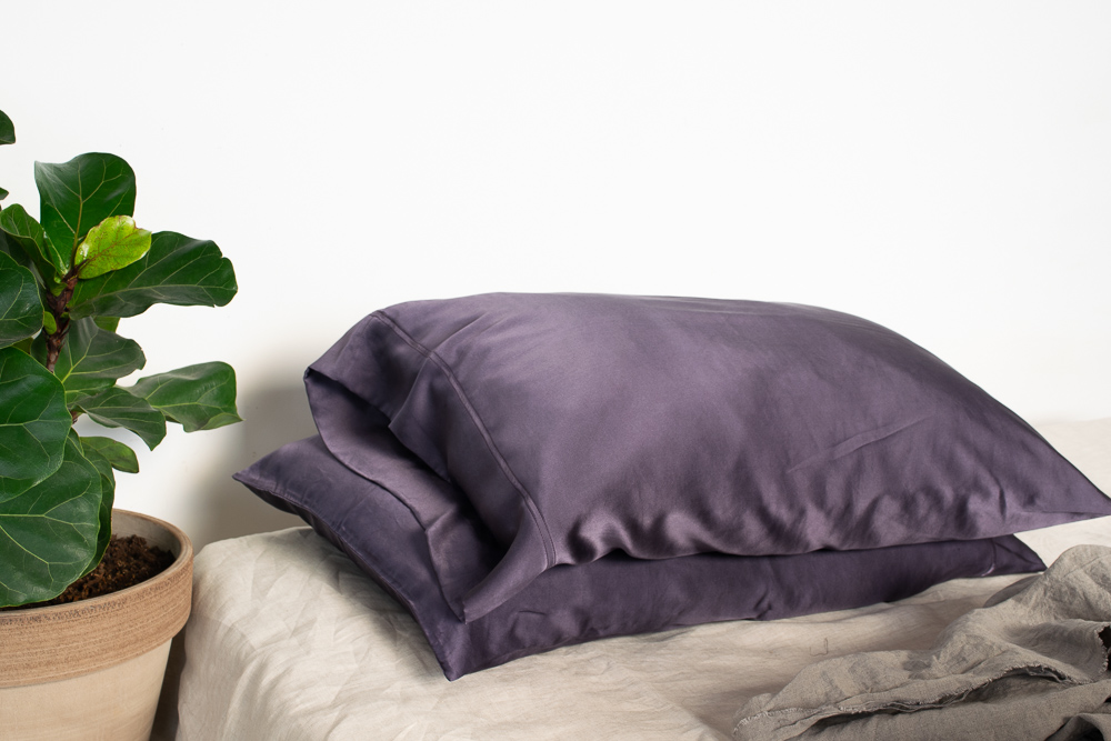 Naturally Dyed Silk Pillowcases