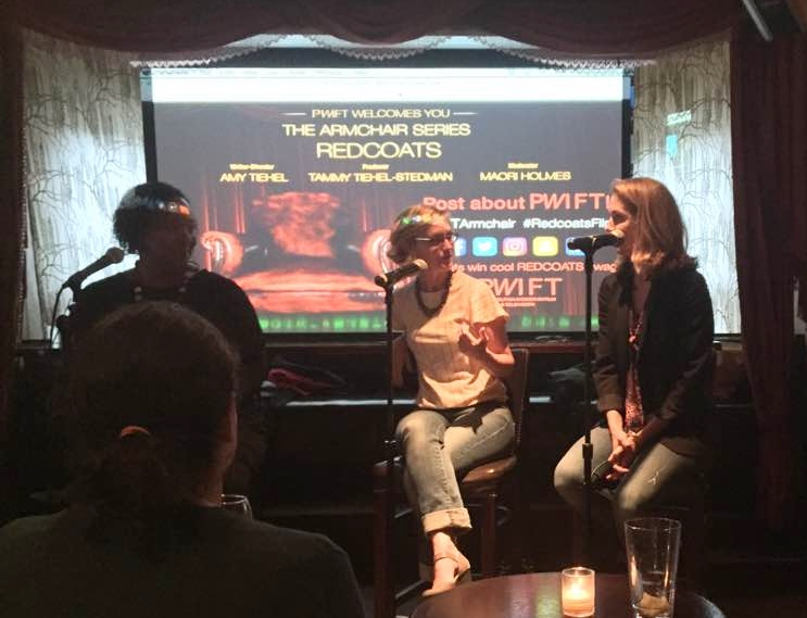 Maori  Karmael Holmes of  Philadelphia Women in Film and Television (PWIFT)  interviews writer/director Amy Tiehel and producer Tammy Tiehel-Stedman for their inaugural Armchair Series.