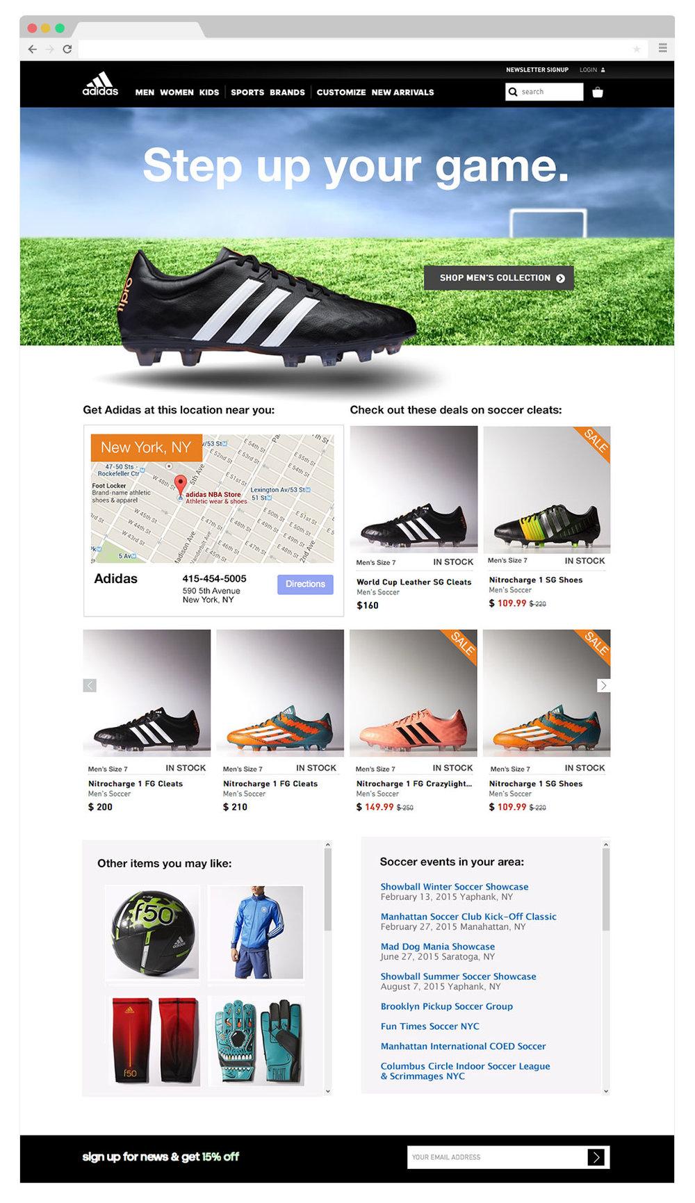 ec7429bea561a Adidas — Fiona Burgess