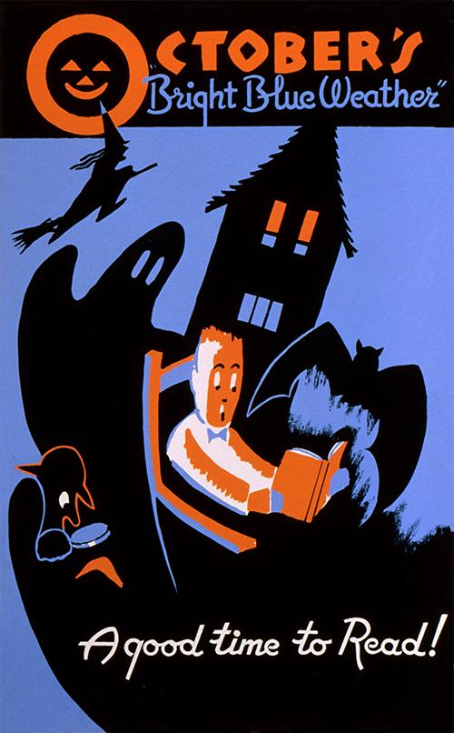wpa halloween poster