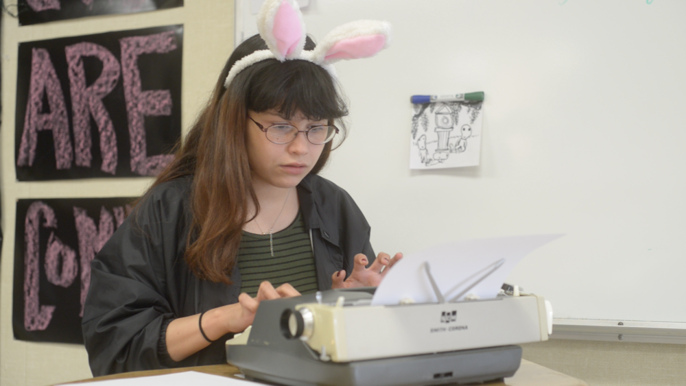 Emma Rabbit Ears Typewriter