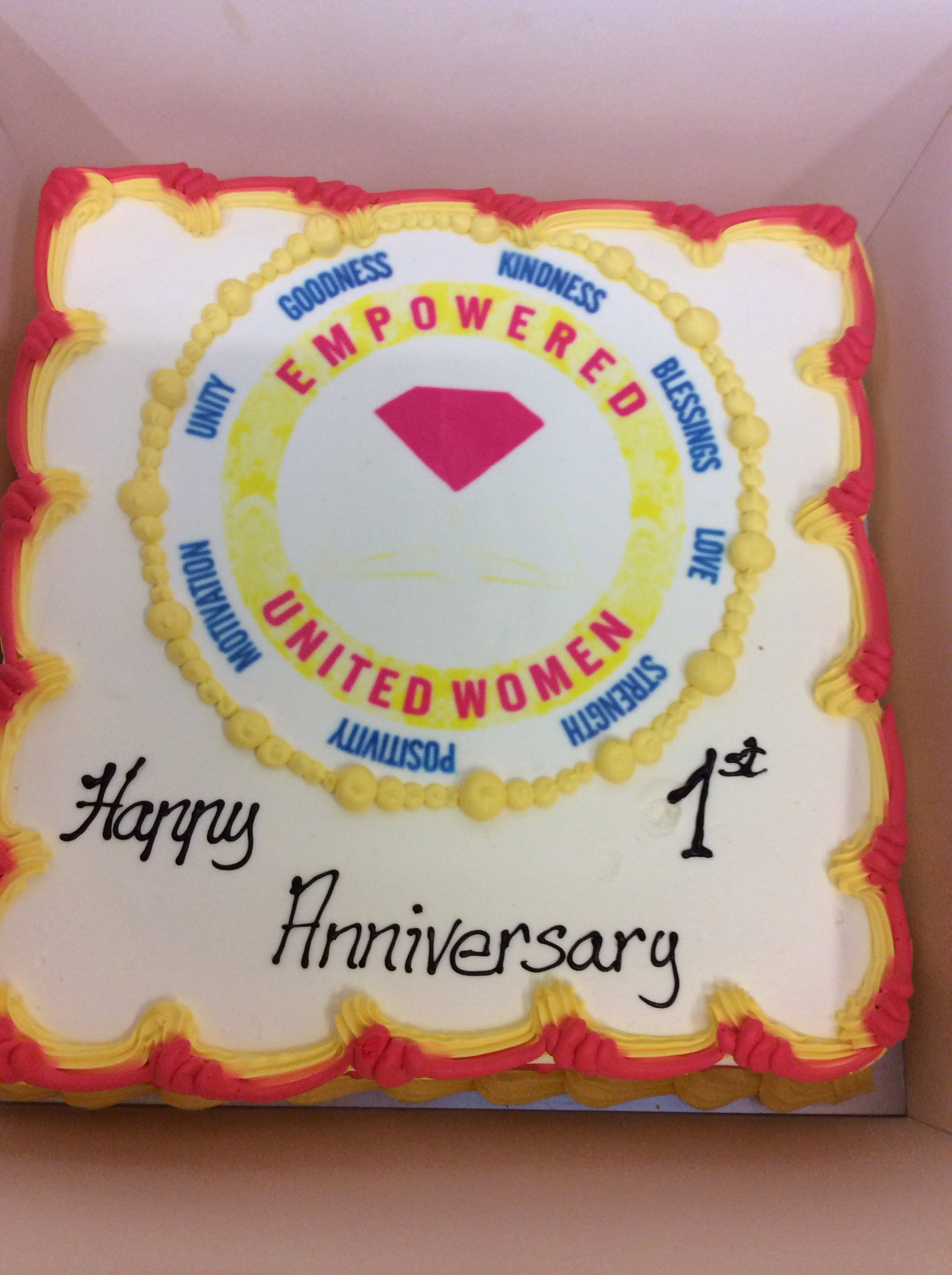 EMPOWERED UNITED WOMEN MINISTRY TURNS 1
